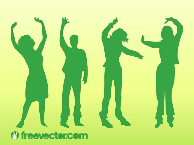 Dancing Vector People free