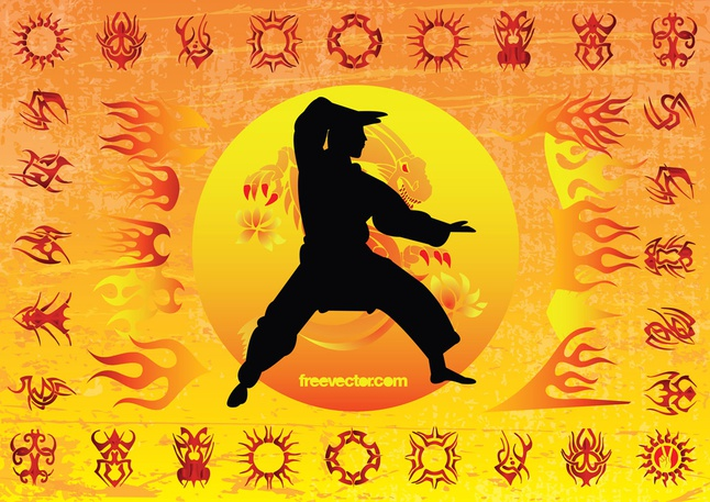 Karate Kid vector free