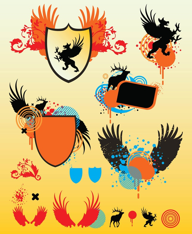 Shield Vector Graphics free