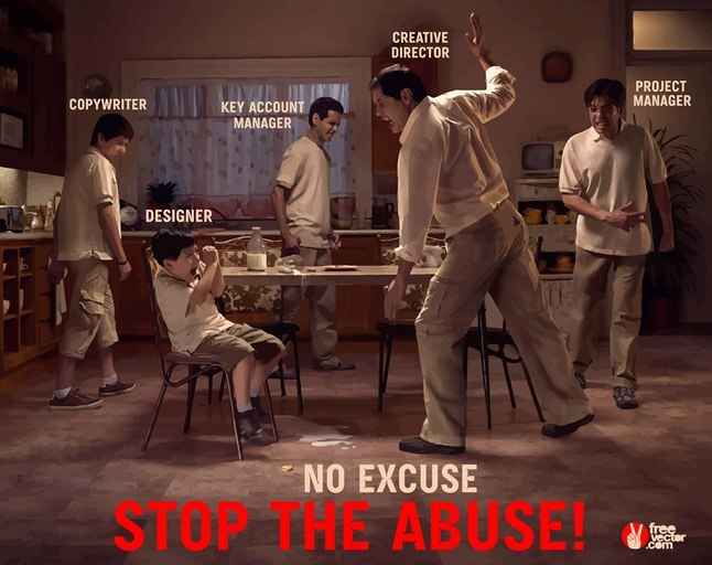 Stop the Abuse vector free