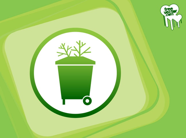 Trash Can Vector free