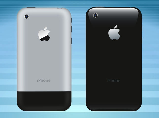 IPhone Back Vector free