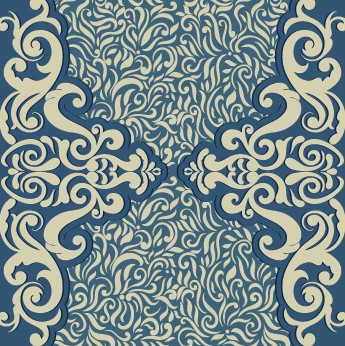 Vintage ornate ornaments pattern background art 05 free