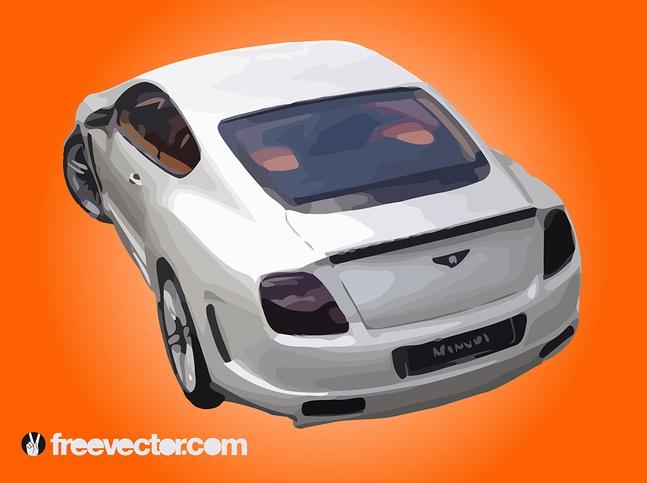 Bentley Continental vector free
