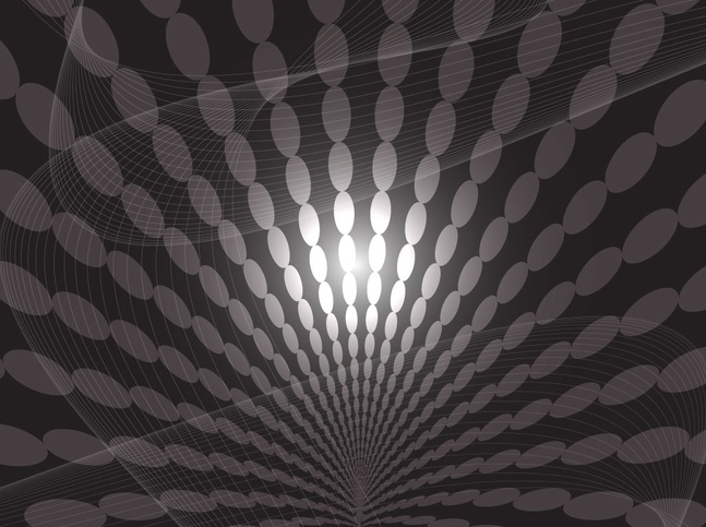 Dark Spiral Background vector free