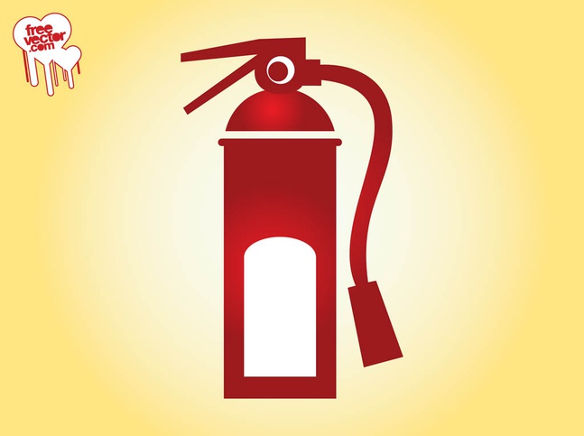 Fire Extinguisher Icon vector free