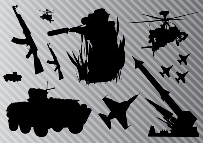 Military Graphics vector free