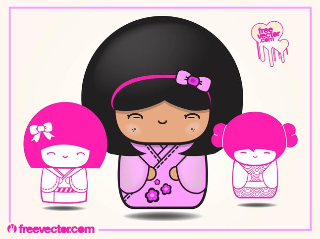 Toy Dolls vector free