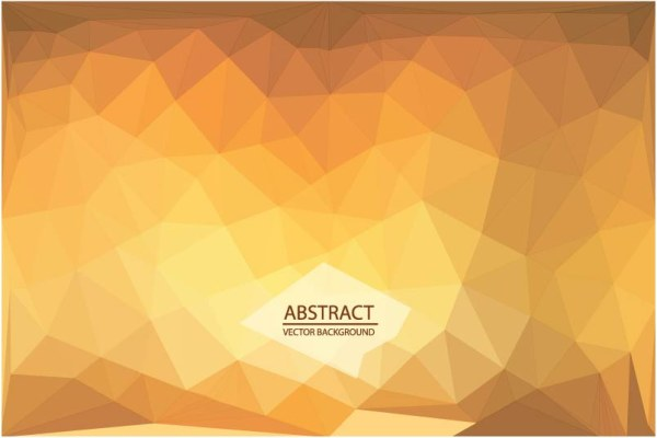 Abstract triangle embossment vector background 06 free