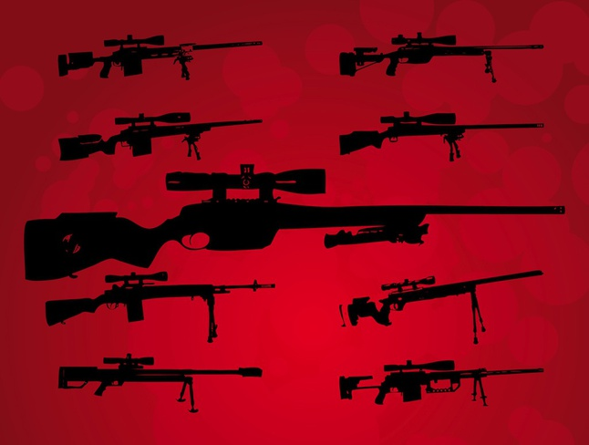 Big Guns vector free