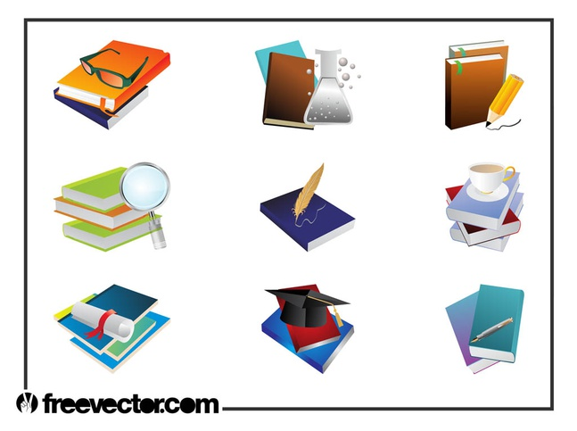 Education Layouts vector free