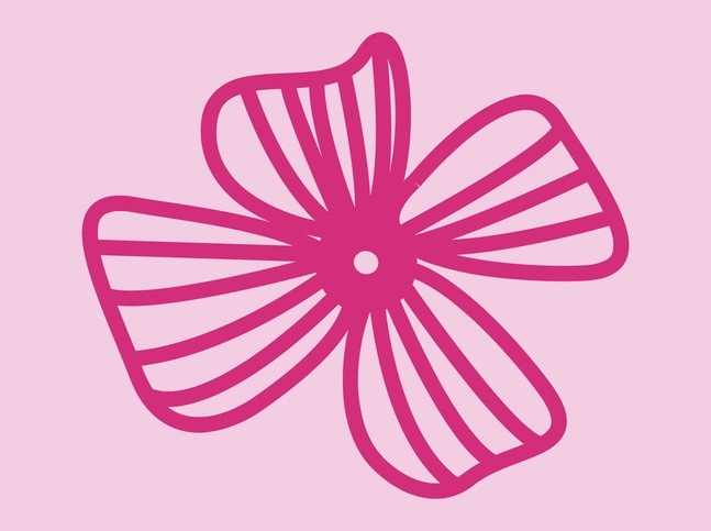 Flower Icon Vector free
