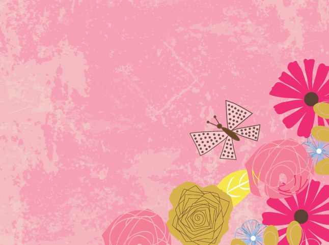 Free Floral Vector Background