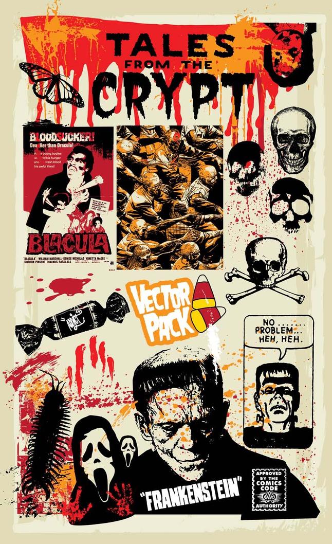 Horror Vectors free