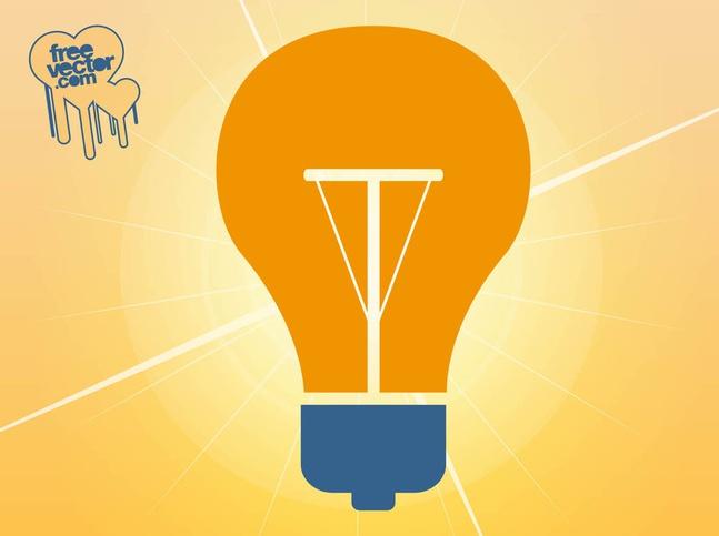 Lamp Icon vector free
