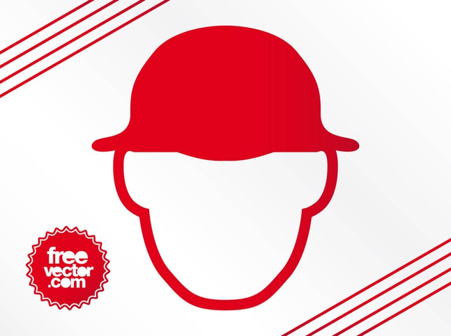 Man With Hat Icon vector free
