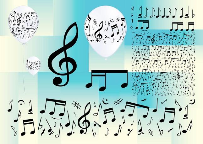 Music Clip Art vector free
