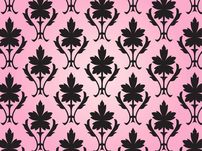 Pattern With Flowers vector free