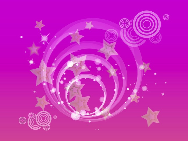 Stars Background vector free