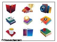 Books Layouts vector free