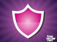 Shield Sticker Graphics vector free