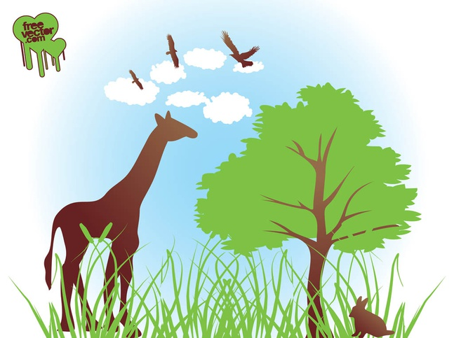 Vector African Nature free