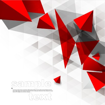3D geometry shiny background graphic 04 free