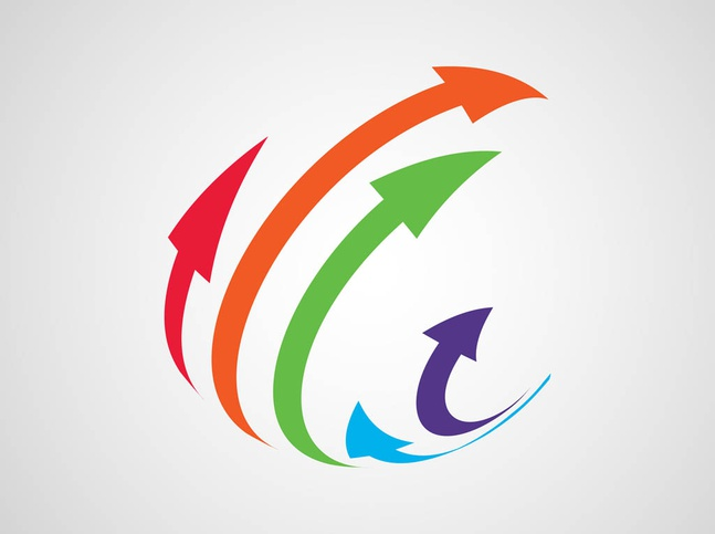Arrows Icon Vector free