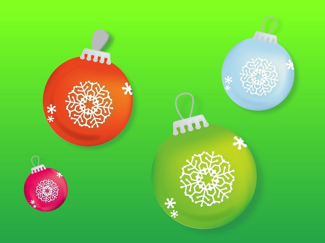 Baubles vector free