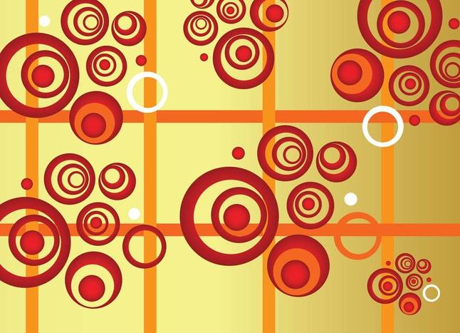 Circles Composition vector free