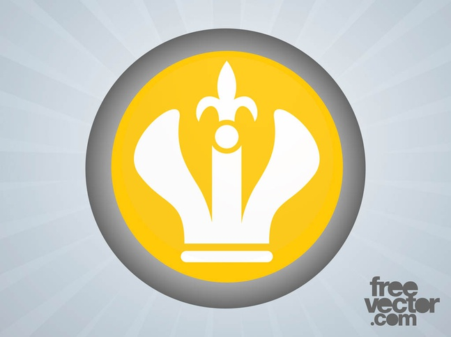 Crown Icon vector free