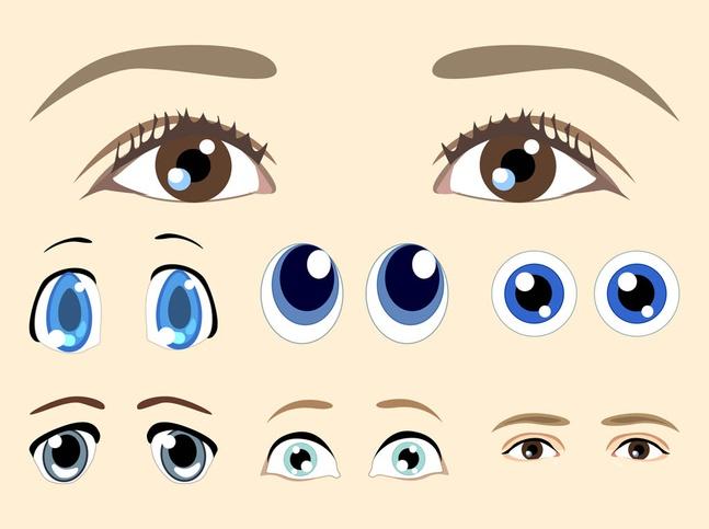 Eyes Vectors free