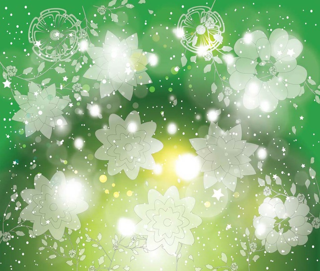 Flowers Vector Backdrop free
