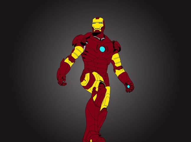 Iron Man Vector free