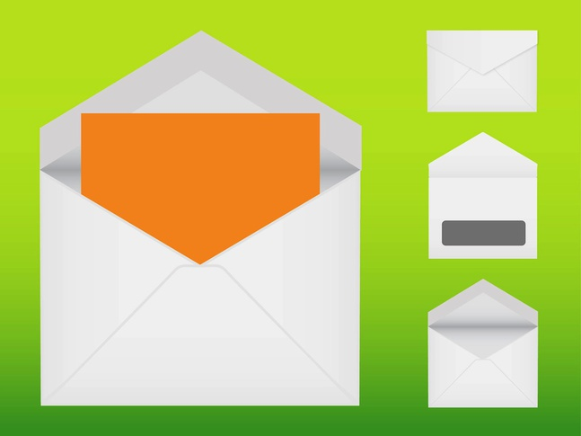 Letter Icons vector free