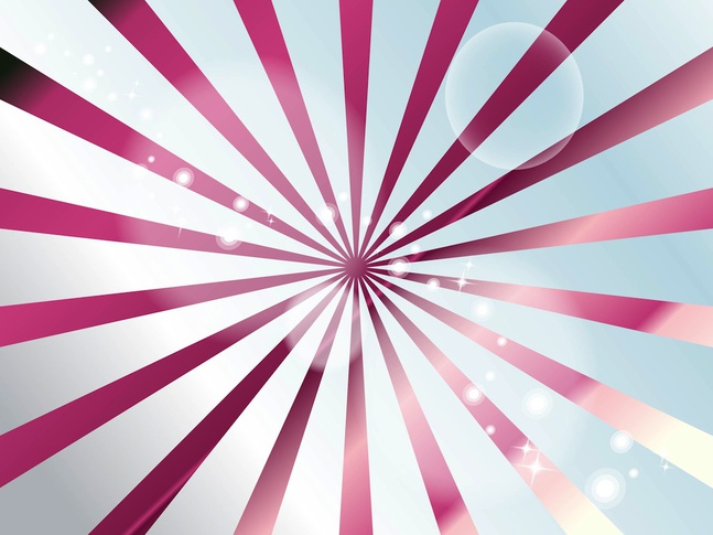 Shiny Perspective Rays vector free