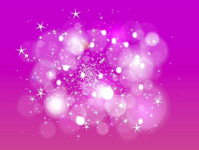 Stars And Bokeh vector free