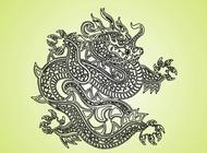 Fantasy Dragon vector free