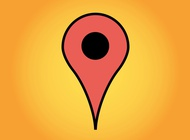 Google Maps Marker vector free