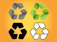 Recycle Logos vector free