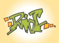 Riot Graffiti Piece vector free