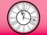 Vintage Clock vector free