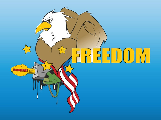 War Eagle vector free
