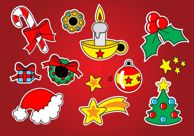 Christmas Vector Footage free
