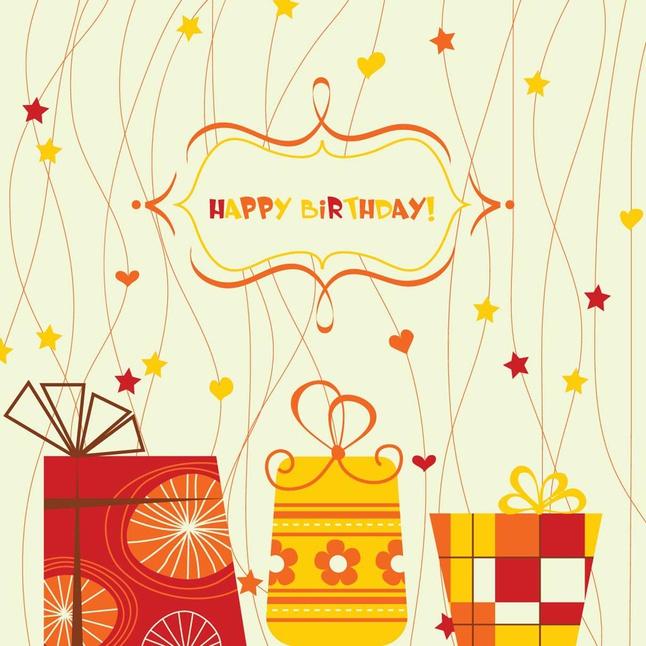 Happy Birthday Vector Art free