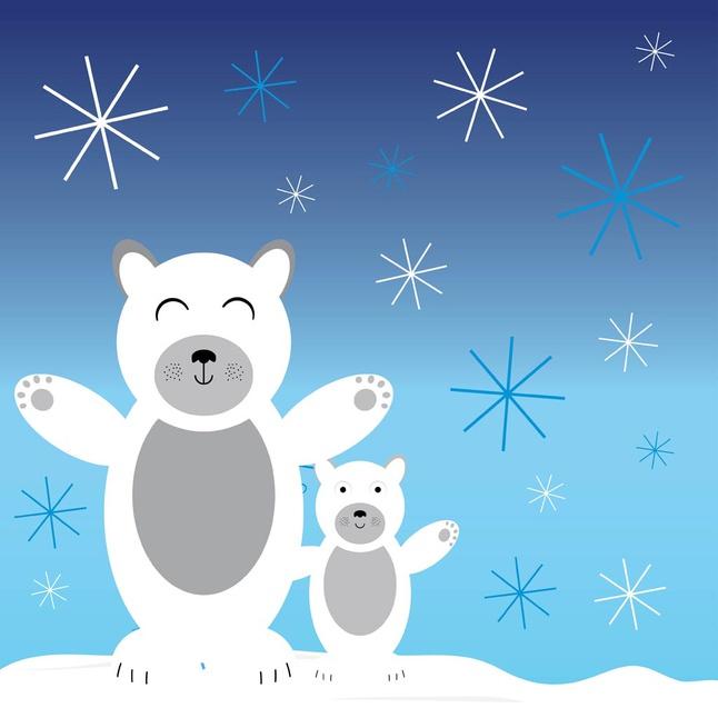 Polar Bears vector free