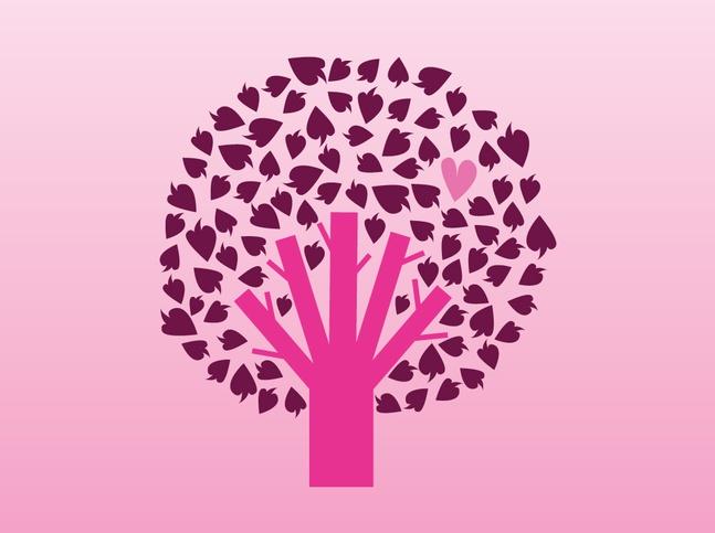 Tree Cartoon vector free