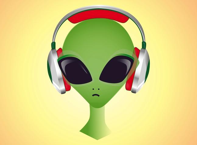 DJ Alien vector free