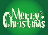 Christmas Greetings vector free