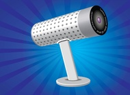 Webcam Illustration vector free